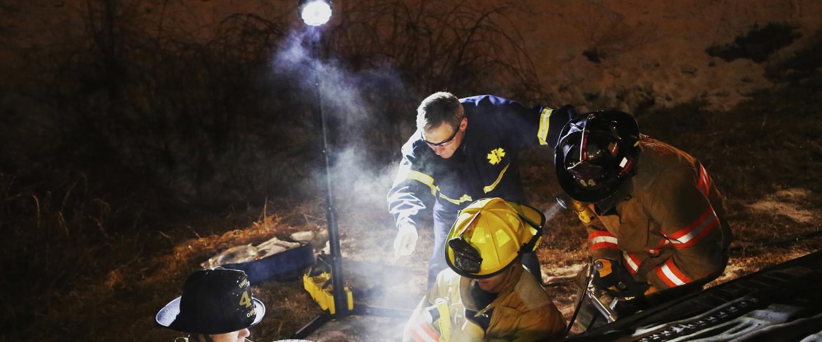 Olycksplatsbelysning